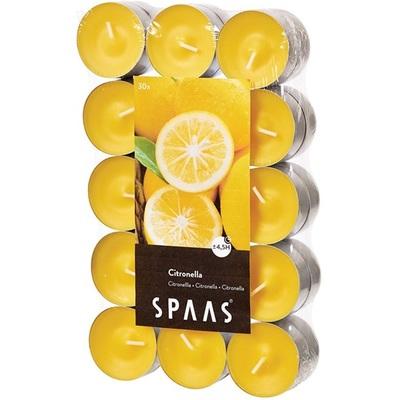 Spaas theelichten citronella