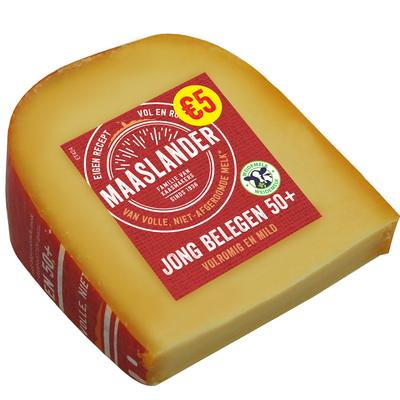 Maaslander 50+ Jong Belegen Stuk 425 Gram