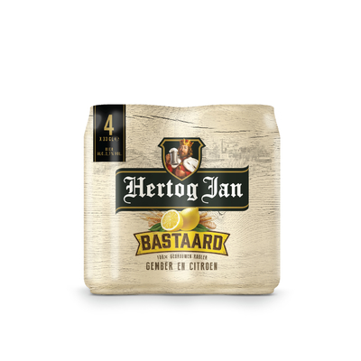 Hertog Jan Bastaard Gember En Citroen 4-pack 33cl