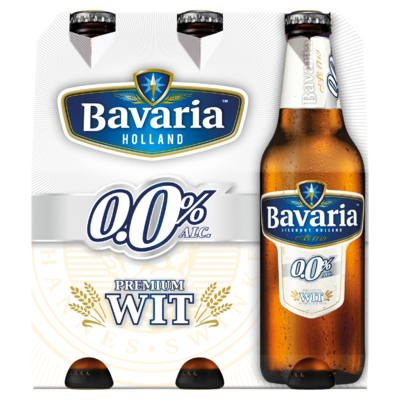 Bavaria 0.0% Wit Fles 6 x 30 cl