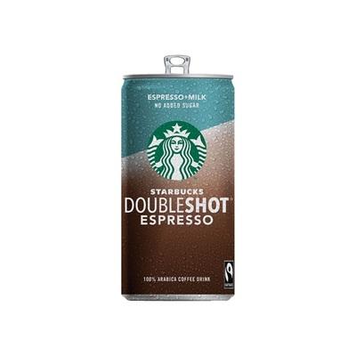 Starbucks doubleshot espresso melk 0% suiker