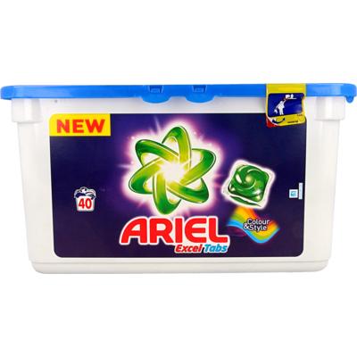 Ariel Colour & Style Excel tabs 40 wasbeurten