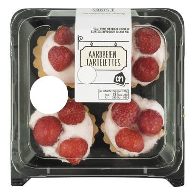 Huismerk Aardbeien tartelettes