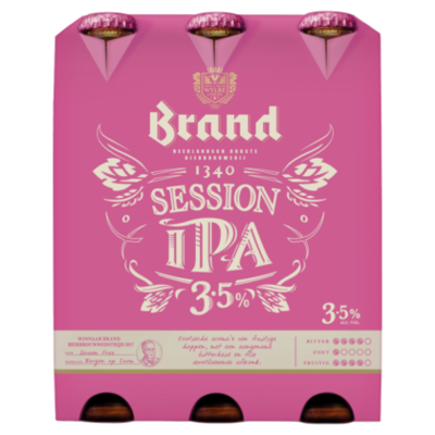 Brand Session IPA Bier Fles 30 cl