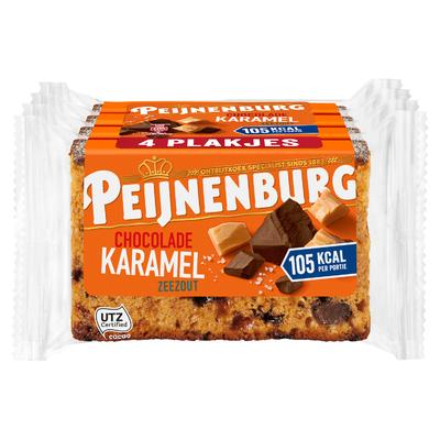 Peijnenburg Chocolade karamel zeezout 4 pack