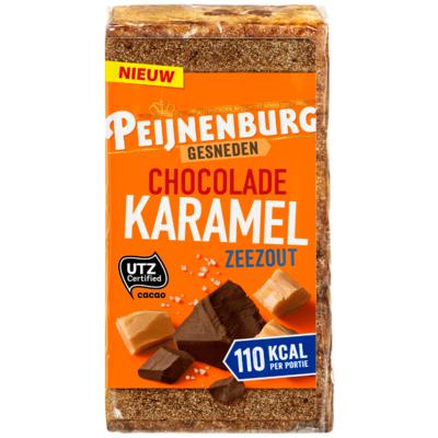 Peijnenburg Ontbijtkoek gesneden karamel zeezout
