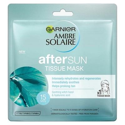 Ambre Solaire aftersun tissue mask