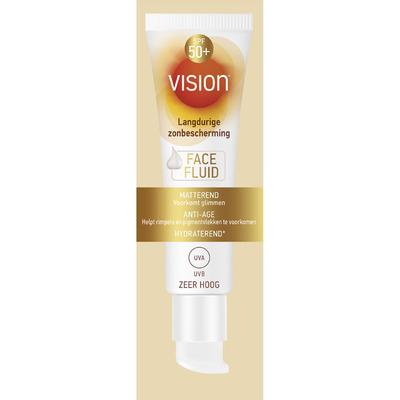 Vision Sun zonnebrand face fluid SPF 50+