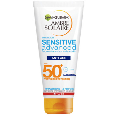 Ambre Solaire Sensitive age protection SPF 50