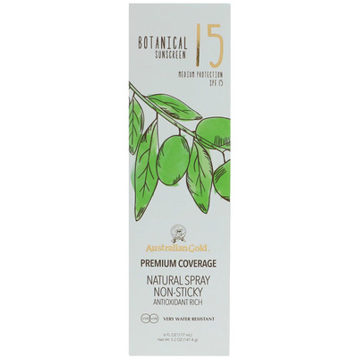 Australian Gold Botanical continuous spray SPF 15