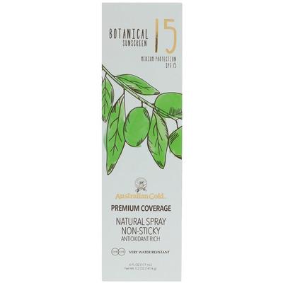 Australian Gold Botanical continuous spray SPF 15