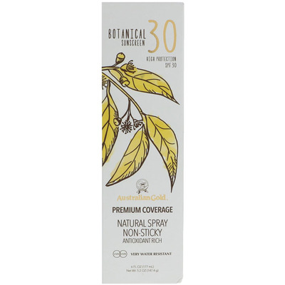 Australian Gold Botanical continuous spray SPF 30