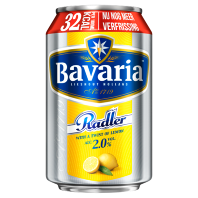 Bavaria 2.0% Radler Citroen Bier