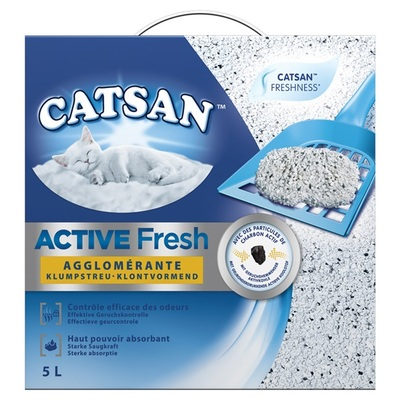 Catsan kattenbakvulling active fresh