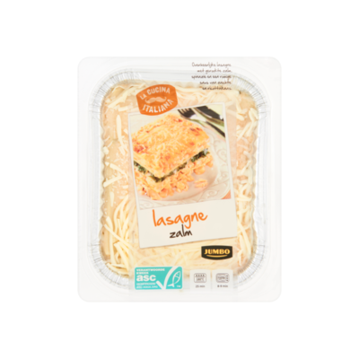 Huismerk Lasagne Zalm