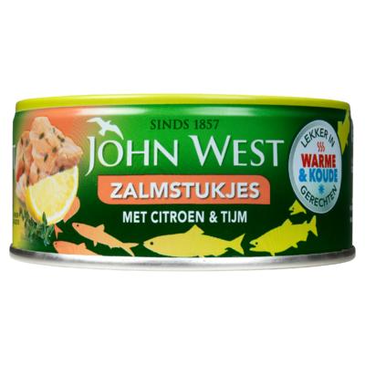 John West MSC Zalmstukjes met Citroen en Tijm 110 g