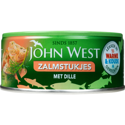 John West Zalmstukjes met dille
