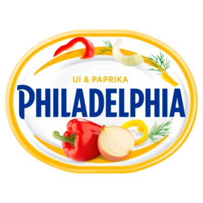 Philadelphia Roomkaas ui & paprika