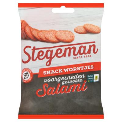 Stegeman Mild gekruide salami voorgesneden