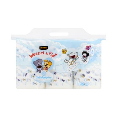 Huismerk Toiletpapier Woezel & Pip 6 Rollen