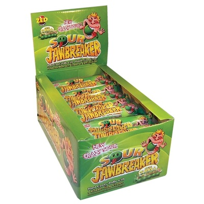 Zed Candy Kauwgom Jawbreaker Sour 5-Pack