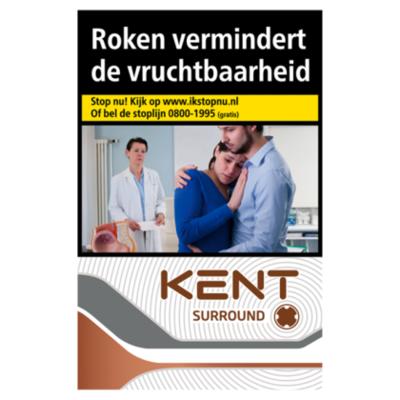 Kent Sigaretten surround silver