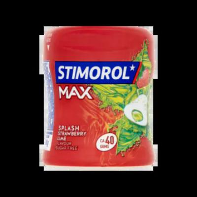 Stimorol Max Splash Strawberry Lime Flavour Sugar Free