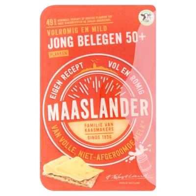 Maaslander Jong Belegen 50+ Plakken 175 g