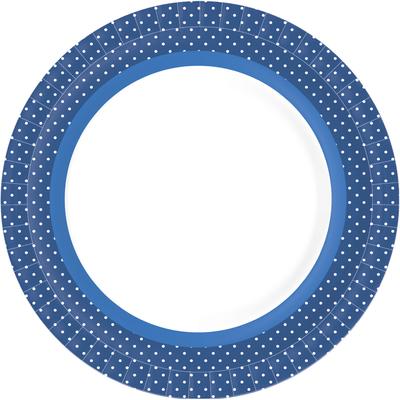 Duni Bord Bbq Blue Line
