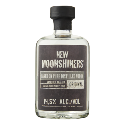 New Moonshiners Based on Pure Distilled Vodka