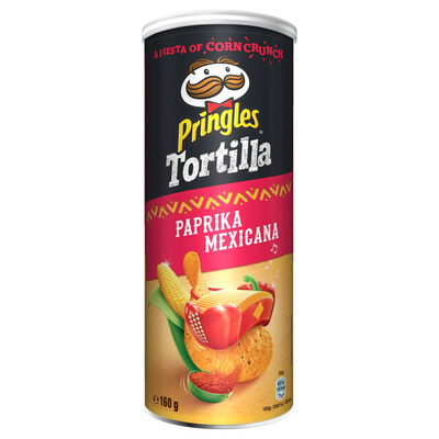 Pringles Tortilla hot paprika