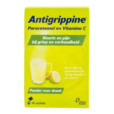 Antigrippine Antigrippine poeder voor drank
