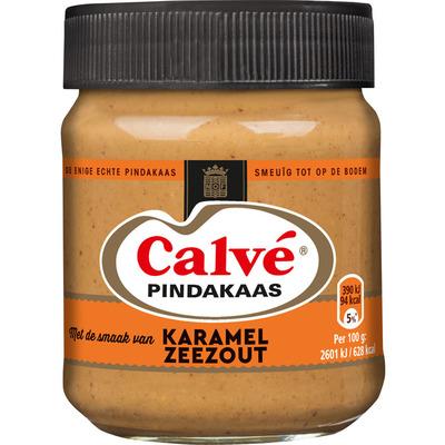 Calvé Pindakaas caramel-zeezout