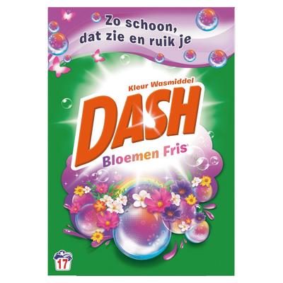 Dash Kleur Waspoeder 1,105 kg 17x Voor Prachtige Kleuren
