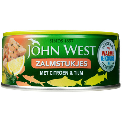 John West Zalmstukken citroen & tijm