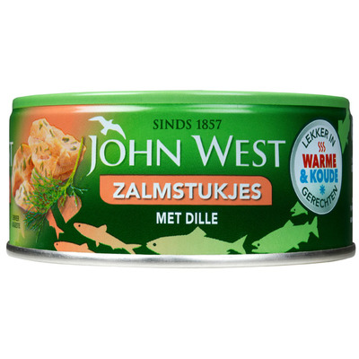 John West Zalmstukken dille