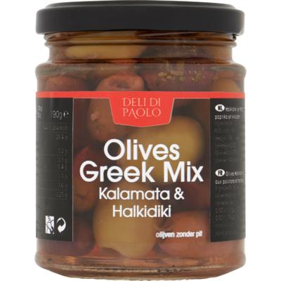 Deli Di Paolo Griekse mix olijven