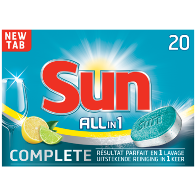 Sun All-in-1 tabs lemon