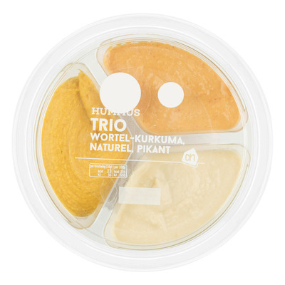 Huismerk Trio hummus