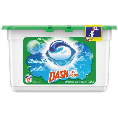 Dash Vloeibaar wasmiddel pods alpine fris
