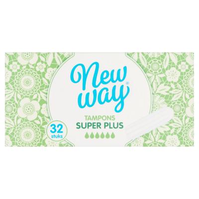 New Way Tampons Super Plus 32 Stuks