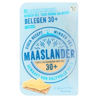 Maaslander Belegen 30+ Plakken 175 g