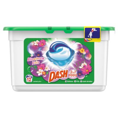 Dash 3in1 Pods 12x Met Frisse Kleur Bloemen
