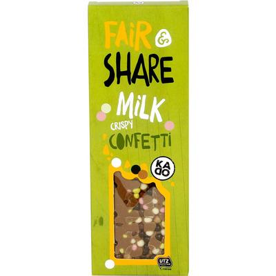 KADOO Fair & share milk crispy confetti