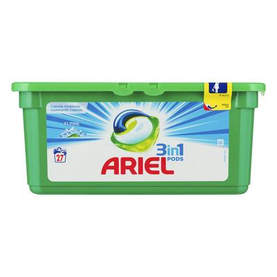 Ariel 3in1 pods alpine wasmiddelcapsules