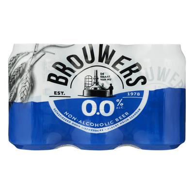 Brouwers 0.0%