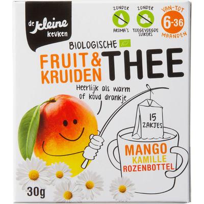 De Kleine Keuken Thee mango bio 6 mnd