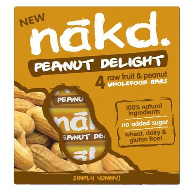 Nakd Peanut delight multipack