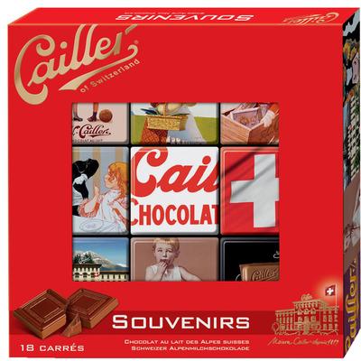 Cailler Chocolade souvenirs