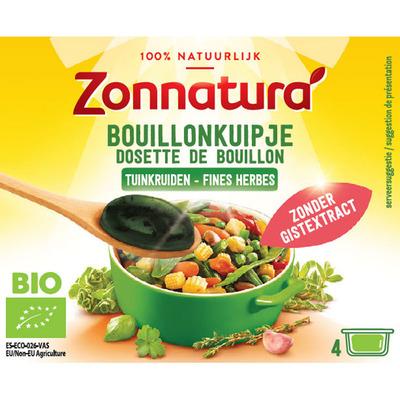 Zonnatura Bouillon kuipje Kruiden